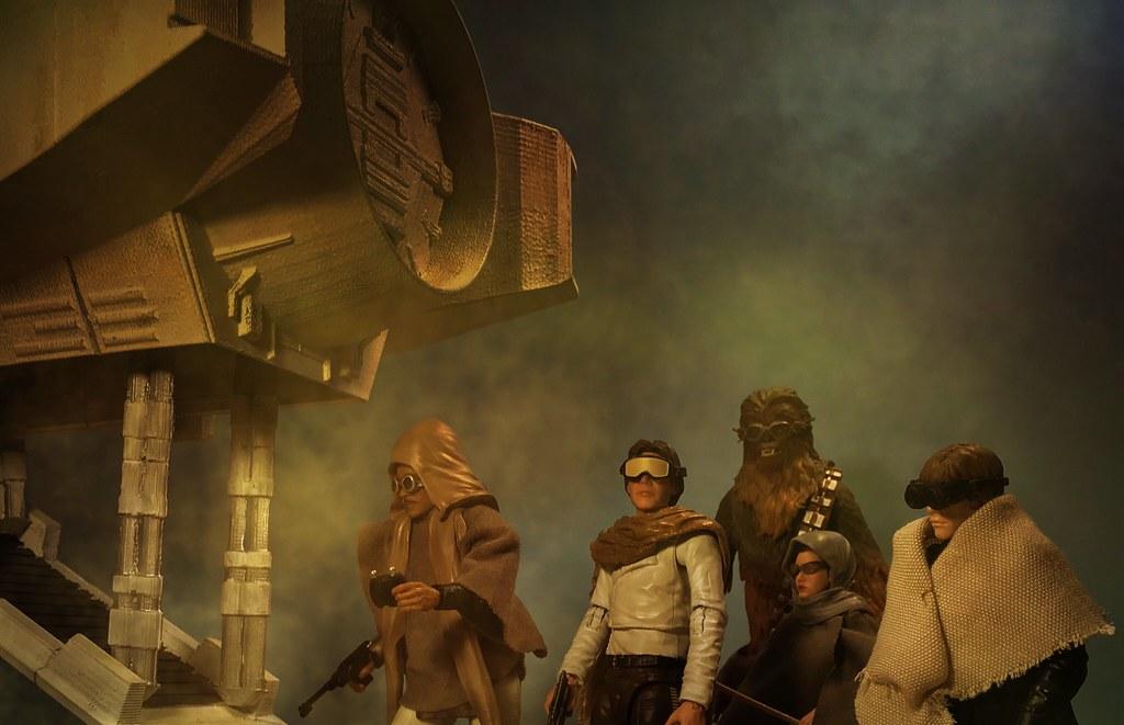 Star Wars Black Series custom ROTJ sandstorm deleted scene