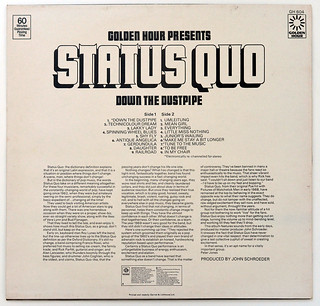 A0700 STATUS QUO Down The Dustpipe (OIS) | by vinylmeister
