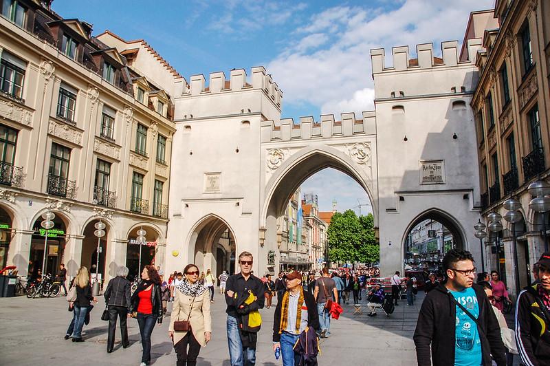 卡爾門(Karlstor,慕尼黑老城西側的城門) 1