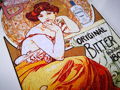 Some New models are already here :) Alphonse Mucha art Poster made by Mrgogo Puzzles