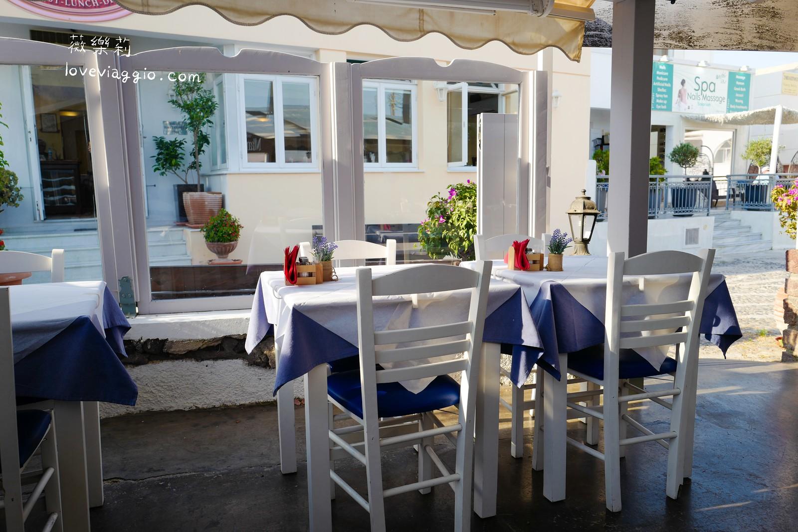 【希臘聖托里尼 Santorini】費拉晚餐 網路人氣Mama's House 除了平價其他不推 @薇樂莉 Love Viaggio   旅行.生活.攝影