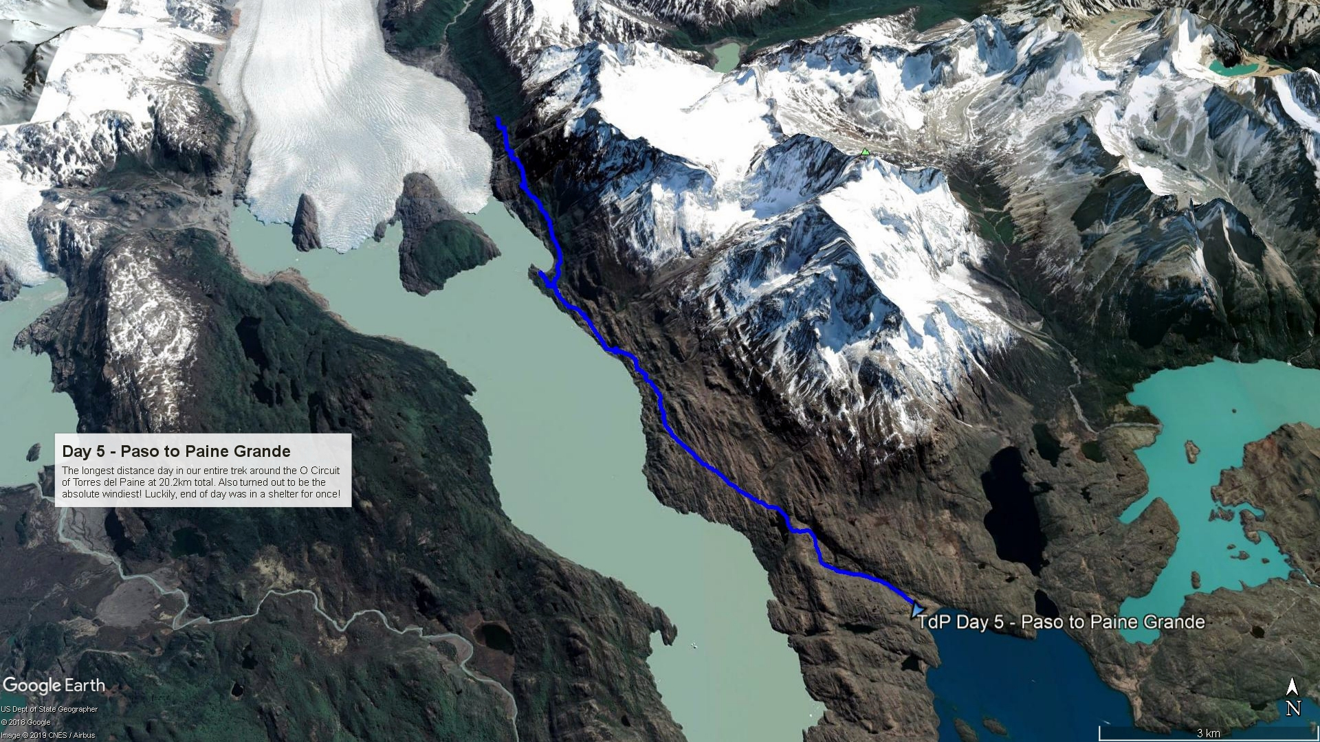 Day 5 Route