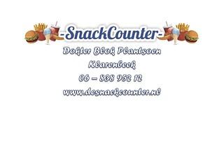 Snackcounter