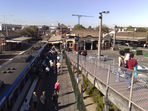 Footscray station, March 2009