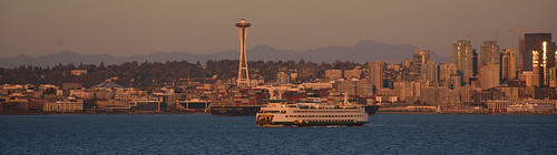 February 2019 - 1 - M/V Tacoma and the Seattle Space Needle | by West Coast Photography