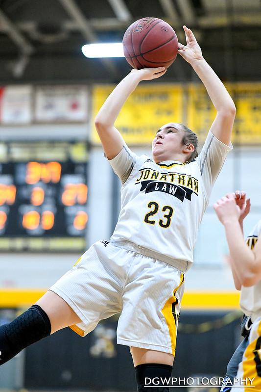 Jonathan Law vs. West Haven - High School Girls Basketball
