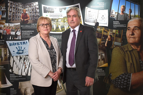 Remembering Srebrenica Scotland at the Scottish Parliament | by Iain Gray MSP