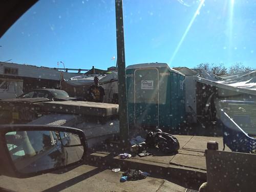 Oakland E 12th St, near the Nimitz (880)