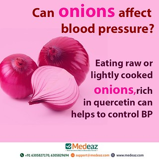 Onions for Blood pressure
