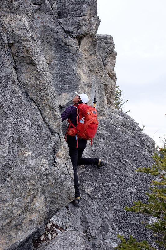 Scrambles - Anklebiter Ridge - Apr. 2019-2
