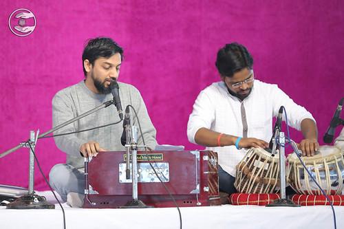 Devotional song by Manish Babu from Sant Nirankari Colony, Delhi