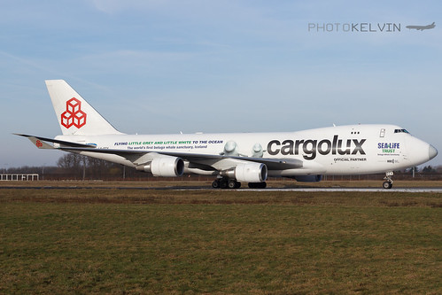 Boeing 747(F) - Cargolux International Airlines *Sea Life Livery 2019* - LX-ECV | by Kelvin Jahae