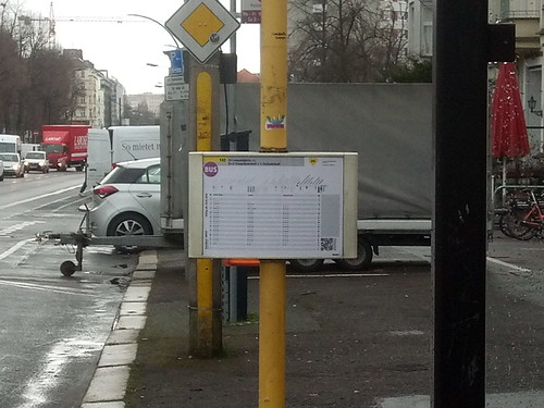 A bus timetable | by DaveLevy