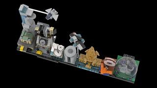 LEGO Avengers Skyline Architecture MOC 05 | by MOMAtteo79