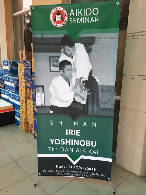 HAF Seminar - Irie Yoshinobu Shihan