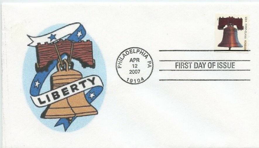 United States - Scott #4128 (2007) first day cover