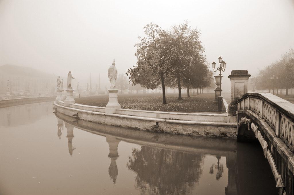 Foggy Morning in Padova, Italy