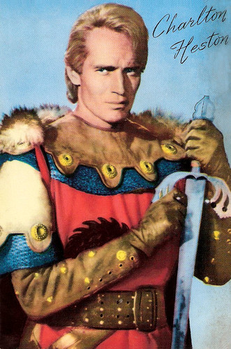 Charlton Heston in El Cid (1961)