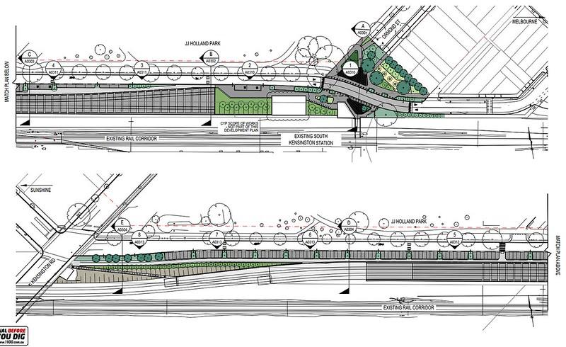 Melbourne Metro 1 tunnel draft plans: Western portal