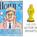Mejor Actor de Reparto (de consulados): Carlos Holmes Trujillo