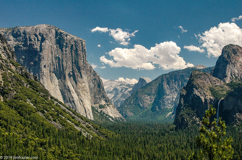 Tunnel View (redux) | by Jim Frazier
