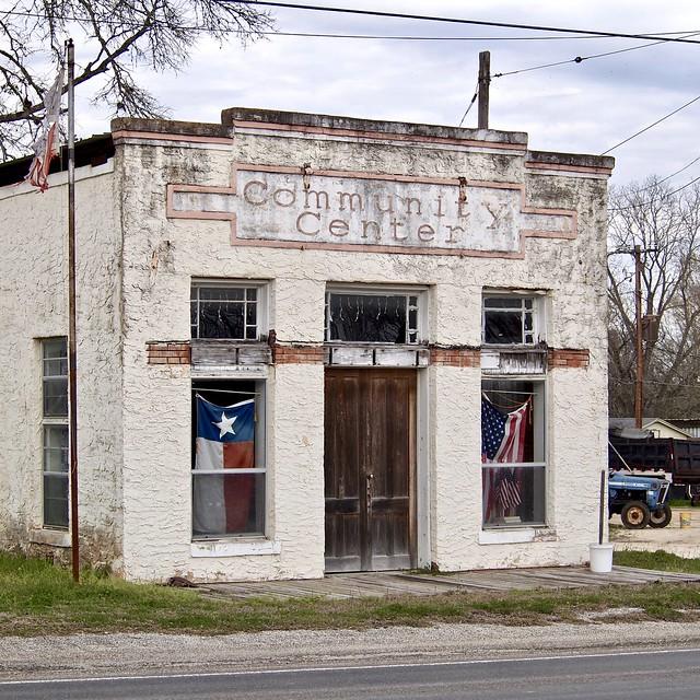 Community Center - Richards,Texas.