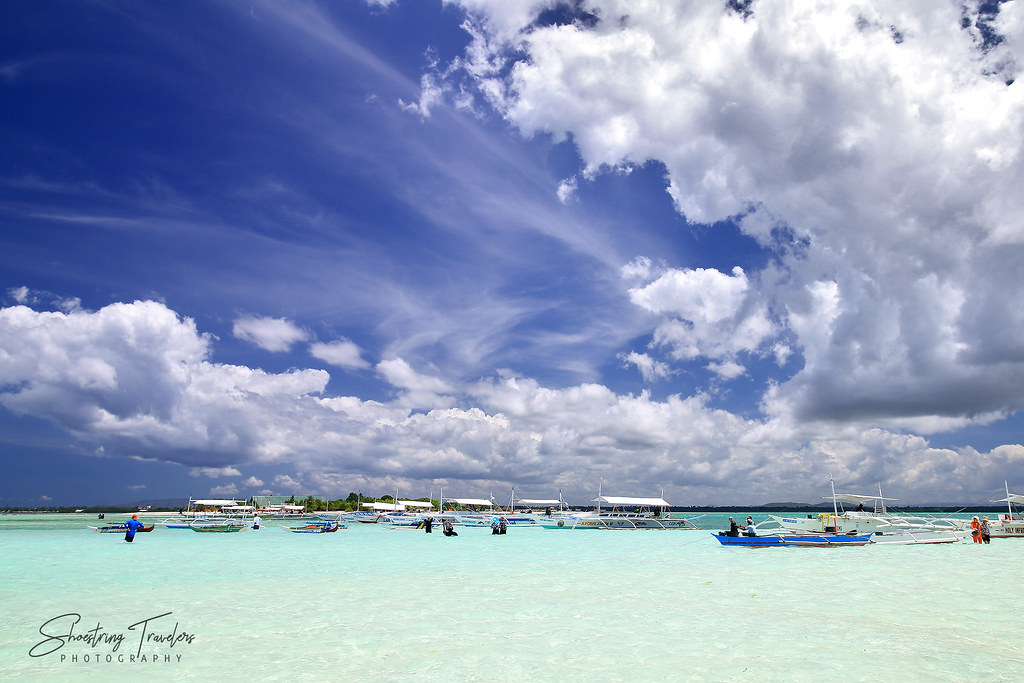 Virgin Island and its sandbar, Panglao, Bohol