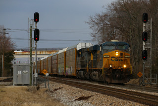 CSX L231, Fairdale,KY 3/5/2019 | by Bluegrass Railfan