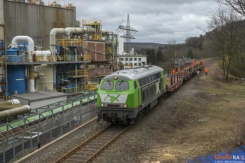 225 073 AIXrail . Stolberg- Hammer . 16.03.19 .