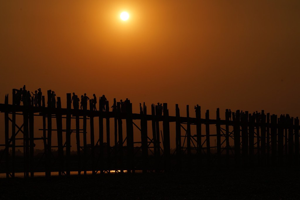 Amarapura, U Bein bridge