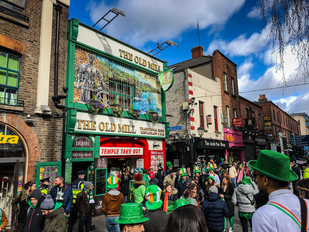 Temple Bar After The St Patrick S Day Parade 2019 Dublin