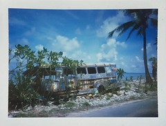 17/3/19 - Fongafale Island, Tuvalu. Polaroids taken with a LandCamera350 in 2019, its 50th year of life