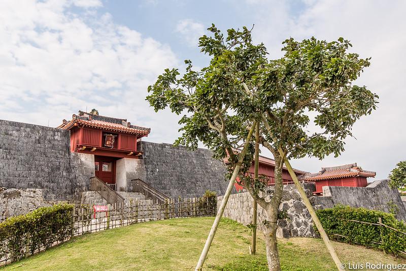 Vistas del parque del castillo