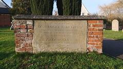 brick tombchest, 1803