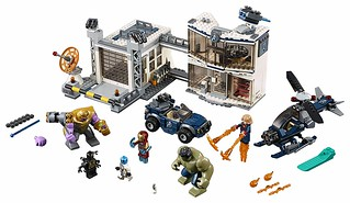 Avengers Compound Battle (76131) | by Brickfinder