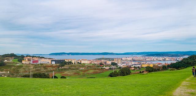 Coruña desde el monte de Bens Explore #81