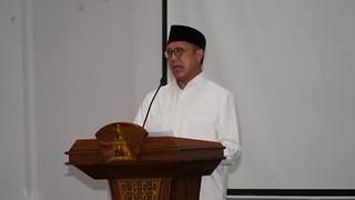 Menteri Agama menyampaikan sambutan   by Sehat Negeriku!