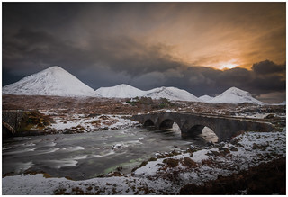 Sunrise at Sligachan | by muddybootsuk