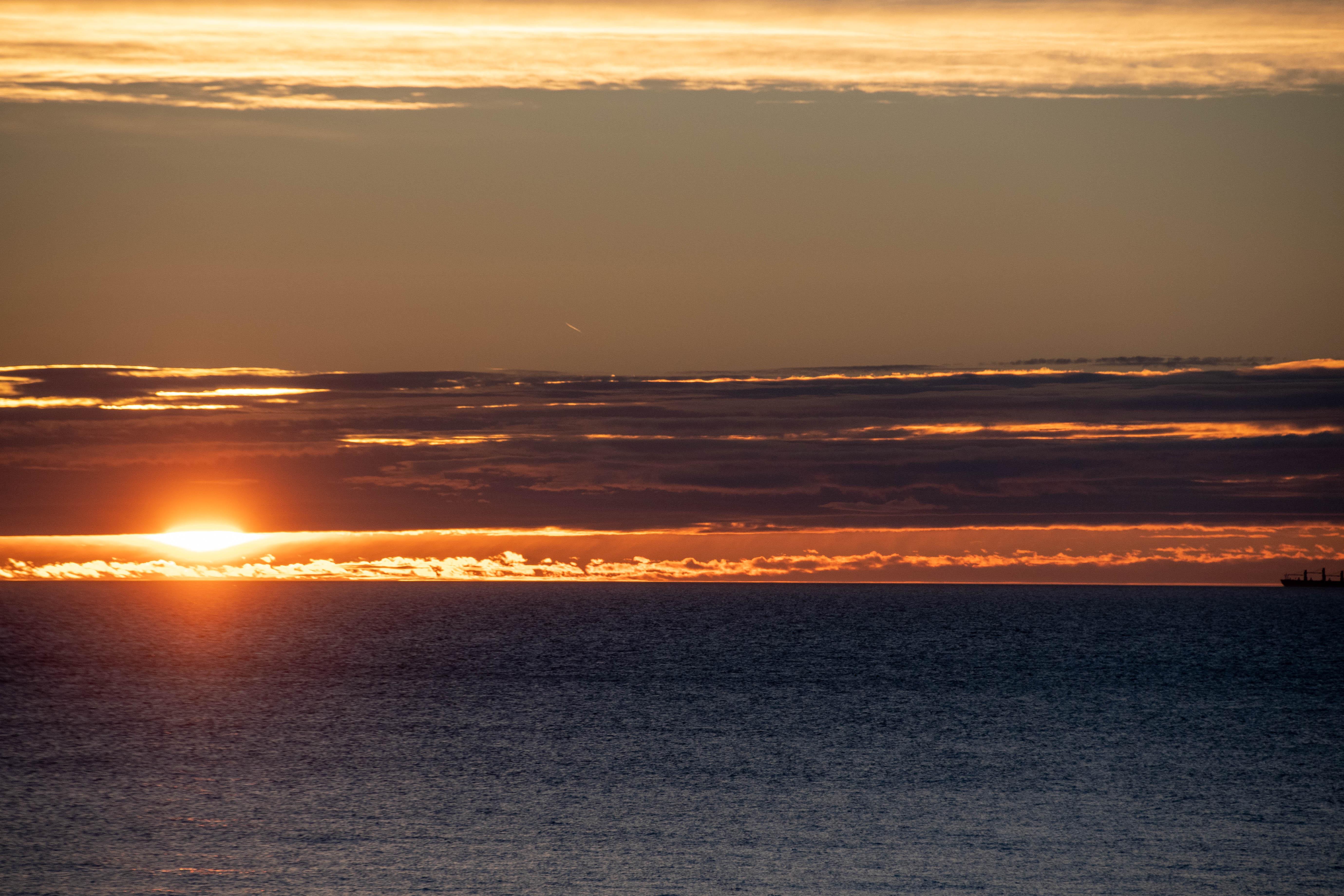 20190105-Kullaberg sunset