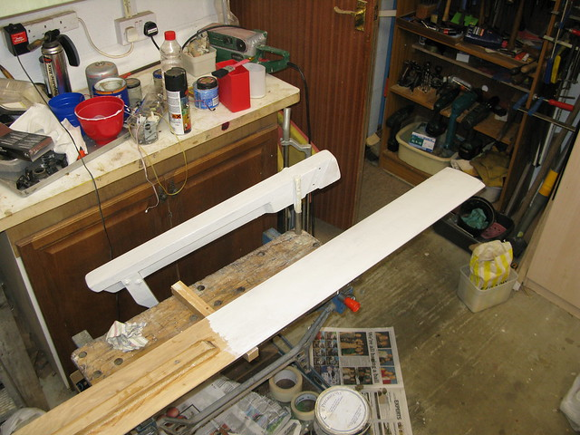 171. Sailing onto the mooring  -coat of primer