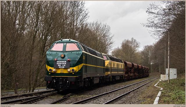 TUC-Rail 5528 + 5508 @ Quenast