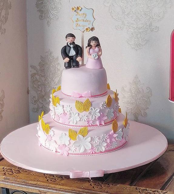 Wedding Cake from Vandana Gupta of Patisserie by Vandana