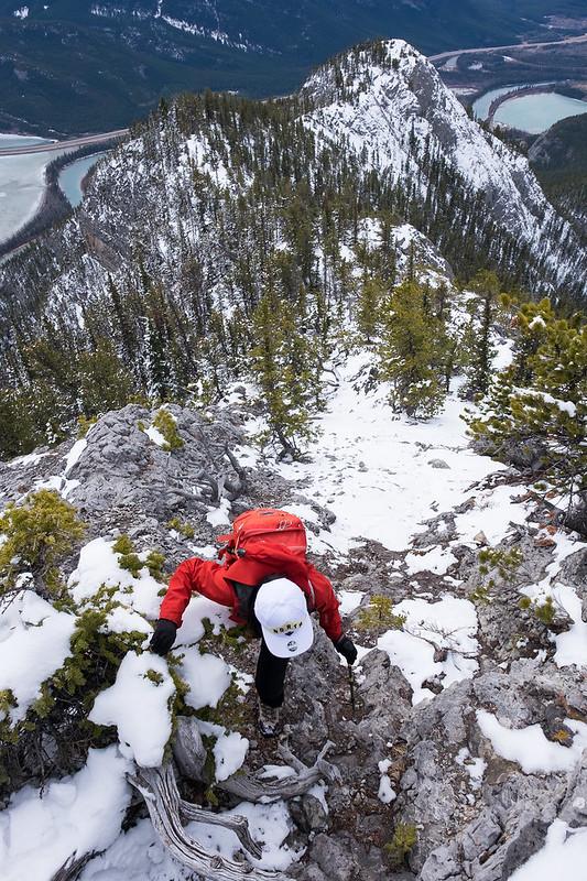 Scrambles - Anklebiter Ridge - Apr. 2019-7