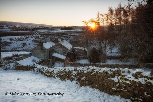 Nettle Hall winter sunrise