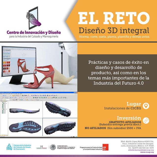 EL RETO DISEÑO 3D INTEGRAL