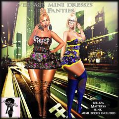 Versace Mini Dresses Ad