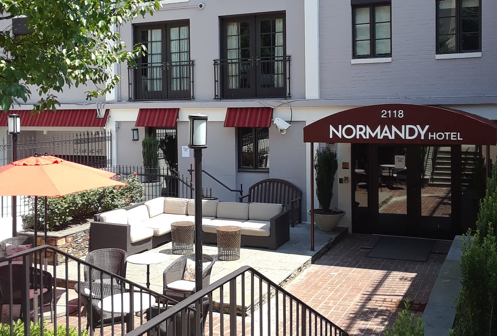 Normandy-Hotel- Awnings