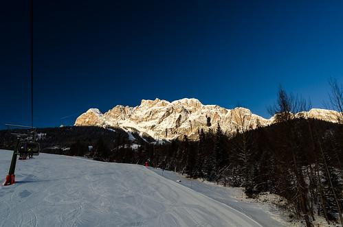 Sunrises over the Dolomites Photo