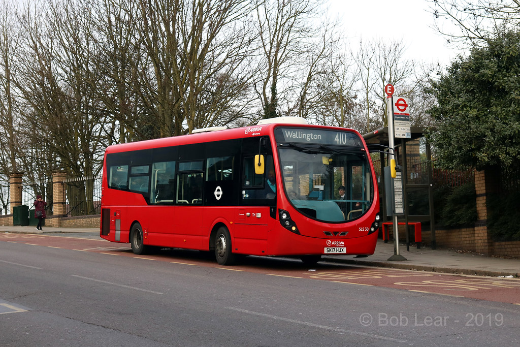 Arriva London SLS30 - SK17 HJX | TFL route 410 between Cryst