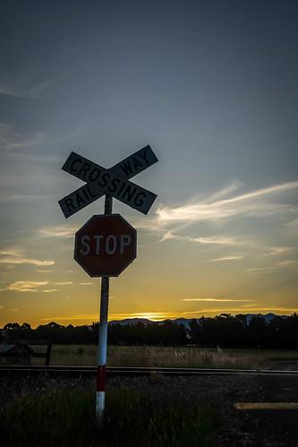 week92019 startingtuesdayfebruary262019 52weeksthe2019edition railway transport ilce7m2 sony wairarapa outtake sunset
